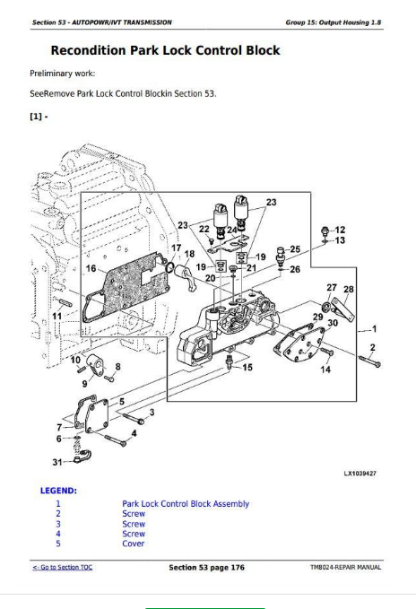 John Deere Tractors 6830 Premium, 6930 Premium Repair